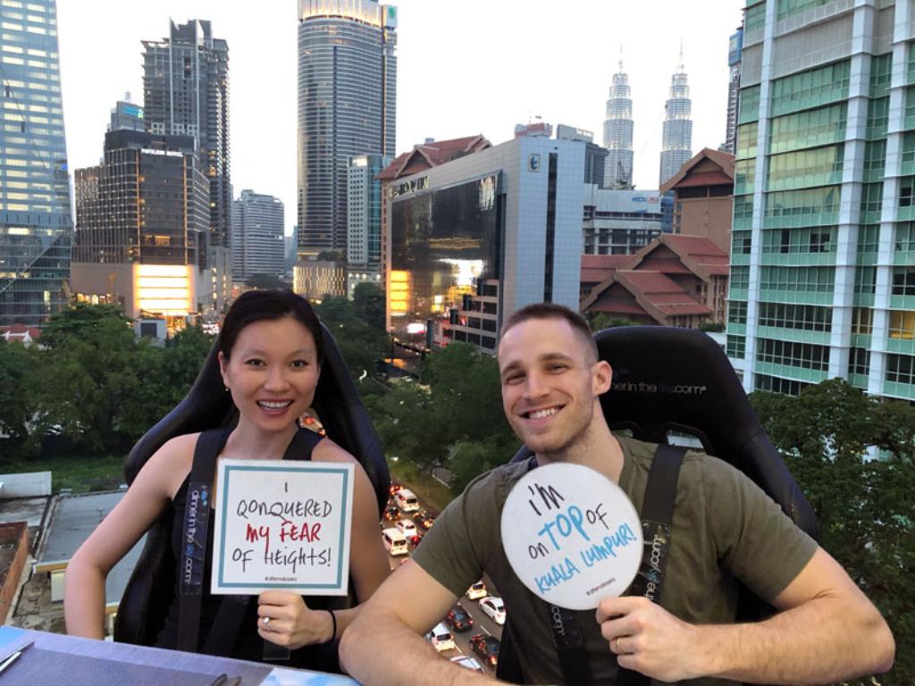 Dining in the Sky Kuala Lumpur