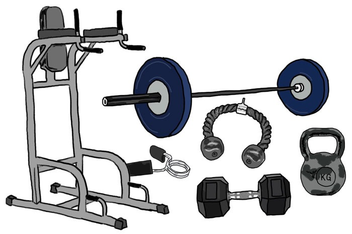 Fitness for Hackers illustrations
