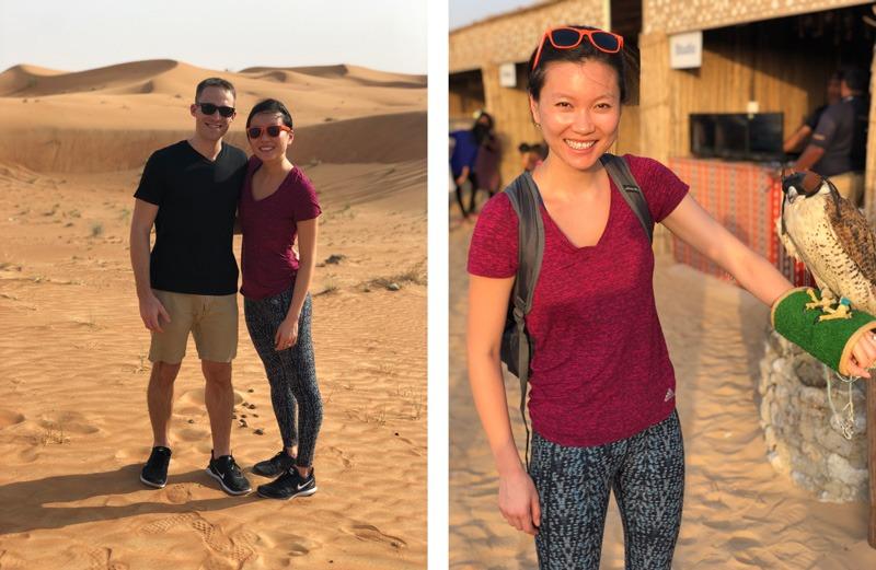 Ryan Hideko Dubai desert safari